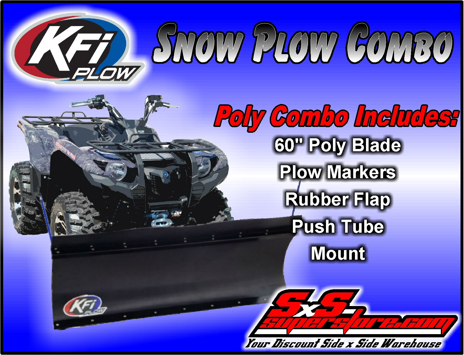 KFI Products 105065 Multi Atv Plow Mount Kit